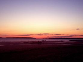 Cape Cod Beach Vacation - Wellfleet Harbor Sunset