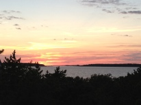Cape Cod Beach Vacation Wellfleet Sunset Over Bay