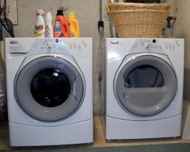 Cape Cod Vacation House Easy Laundry