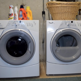 Cape Cod Vacation House Easy Laundry